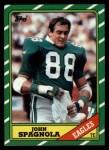 1986 Topps #272  John Spagnola  Front Thumbnail