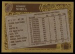 1986 Topps #291  Donnie Shell  Back Thumbnail