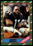 1986 Topps #291  Donnie Shell  Front Thumbnail