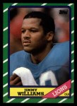 1986 Topps #252  Jimmy Williams  Front Thumbnail