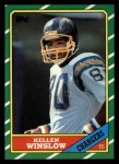 1986 Topps #237  Kellen Winslow  Front Thumbnail