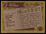 1986 Topps #296  Buster Rhymes  Back Thumbnail
