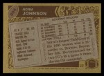 1986 Topps #204  Norm Johnson  Back Thumbnail