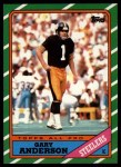 1986 Topps #287  Gary Anderson  Front Thumbnail