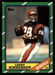 1986 Topps #257  Larry Kinnebrew  Front Thumbnail