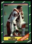1986 Topps #259  Mike Martin  Front Thumbnail