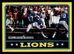 1986 Topps #242   Lions Leaders Front Thumbnail