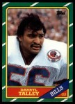 1986 Topps #391  Darryl Talley  Front Thumbnail
