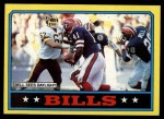 1986 Topps #383   Bills Leaders Front Thumbnail