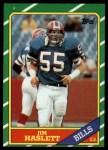 1986 Topps #392  Jim Haslett  Front Thumbnail