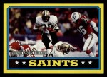 1986 Topps #338   Saints Leaders Front Thumbnail