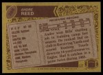 1986 Topps #388  Andre Reed  Back Thumbnail
