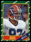 1986 Topps #388  Andre Reed  Front Thumbnail