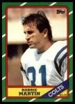 1986 Topps #319  Robbie Martin  Front Thumbnail