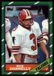 1986 Topps #371  Rick Donnelly  Front Thumbnail