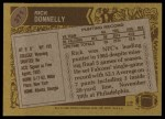 1986 Topps #371  Rick Donnelly  Back Thumbnail