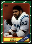 1986 Topps #324  Cliff Odom  Front Thumbnail