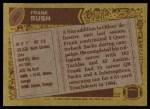 1986 Topps #358  Frank Bush  Back Thumbnail