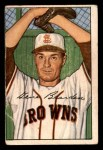 1952 Bowman #173  Gene Bearden  Front Thumbnail