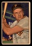 1952 Bowman #11  Ralph Kiner  Front Thumbnail