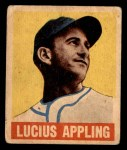1949 Leaf #59  Luke Appling  Front Thumbnail