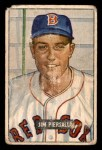 1951 Bowman #306  Jimmy Piersall  Front Thumbnail
