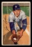 1952 Bowman #181  Joe Collins  Front Thumbnail