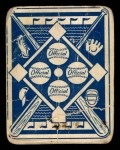 1951 Topps Blue Back #52  Sam Chapman  Back Thumbnail