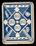 1951 Topps Blue Back #41  Johnny Schmitz    Back Thumbnail