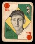 1951 Topps Blue Back #41  Johnny Schmitz    Front Thumbnail