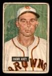 1951 Bowman #173  Hank Arft  Front Thumbnail