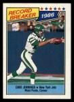 1987 Topps #3   -  Dave Jennings Record Breaker Front Thumbnail