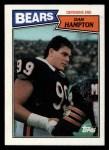 1987 Topps #53  Dan Hampton  Front Thumbnail