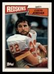 1987 Topps #78  Curtis Jordan  Front Thumbnail