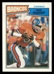 1987 Topps #41  Mike Harden  Front Thumbnail