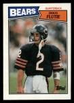 1987 Topps #45  Doug Flutie  Front Thumbnail