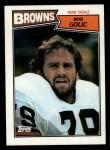 1987 Topps #89  Bob Golic  Front Thumbnail