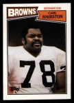 1987 Topps #90  Carl Hairston  Front Thumbnail