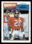 1987 Topps #40  Louis Wright  Front Thumbnail
