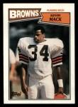 1987 Topps #82  Kevin Mack  Front Thumbnail