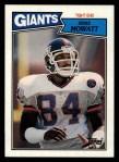 1987 Topps #18  Zeke Mowatt  Front Thumbnail