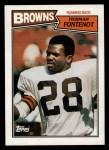 1987 Topps #83  Herman Fontenot  Front Thumbnail