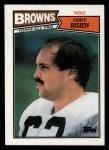 1987 Topps #87  Cody Risien  Front Thumbnail