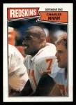 1987 Topps #74  Charles Mann  Front Thumbnail
