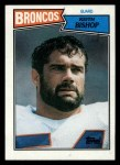 1987 Topps #37  Keith Bishop  Front Thumbnail