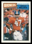 1987 Topps #32  Gerald Willhite  Front Thumbnail
