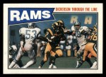 1987 Topps #144   Rams Leaders Front Thumbnail