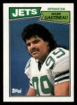1987 Topps #135  Mark Gastineau  Front Thumbnail