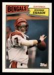 1987 Topps #185  Boomer Esiason  Front Thumbnail