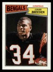 1987 Topps #197  Louis Breeden  Front Thumbnail